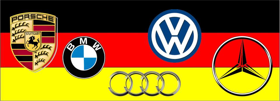 Duitse auto's in trek